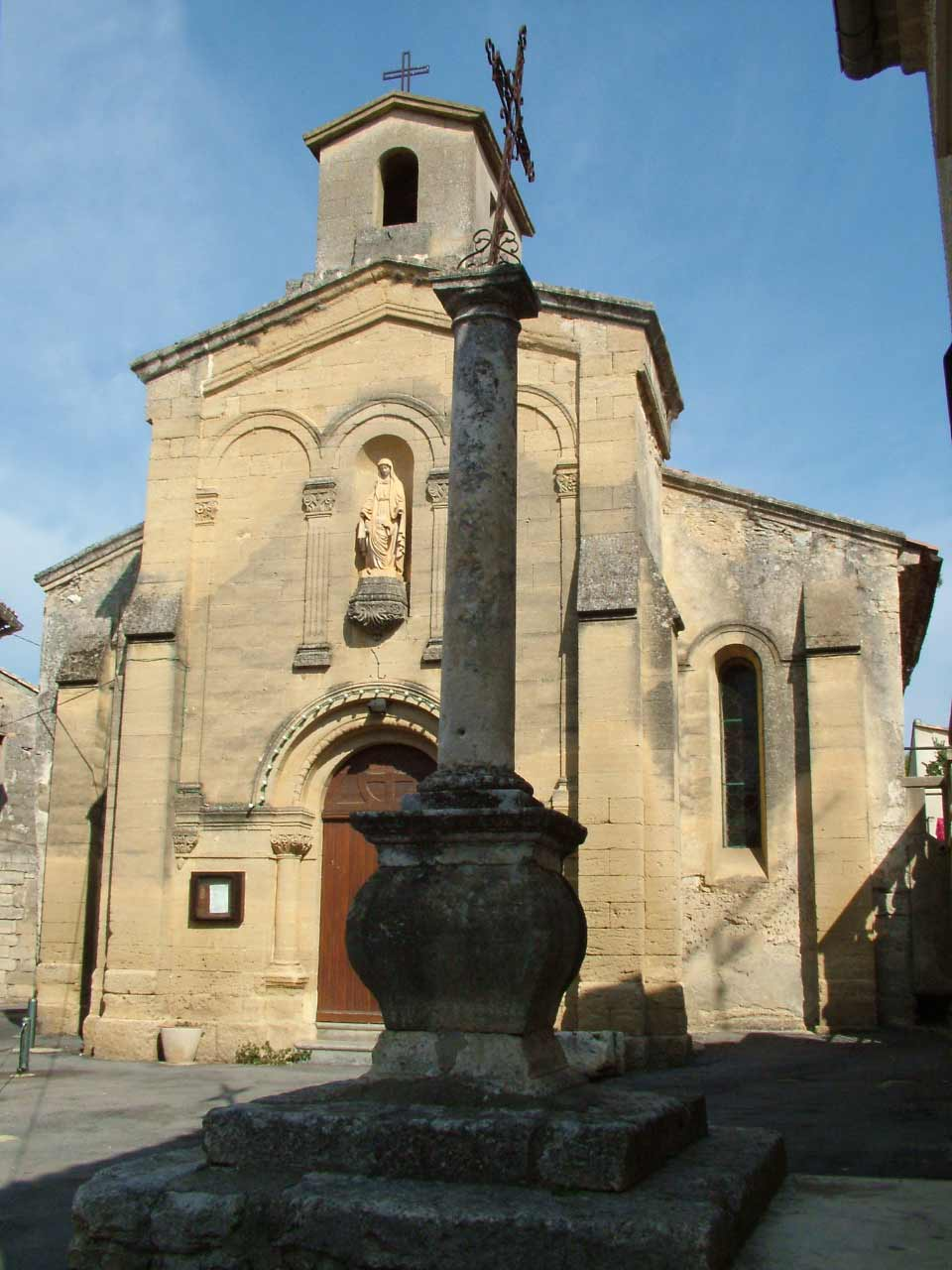 L'église Saint Laurent de Sanilhac-Sagriès