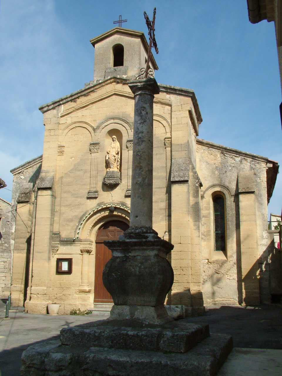 L'église Saint Laurent de Sanilhac-Sagriès