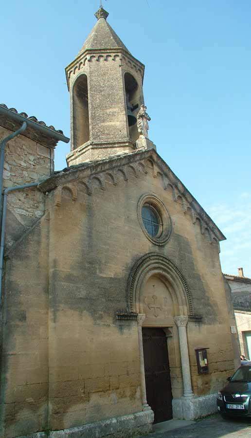 L'église de Sanilhac