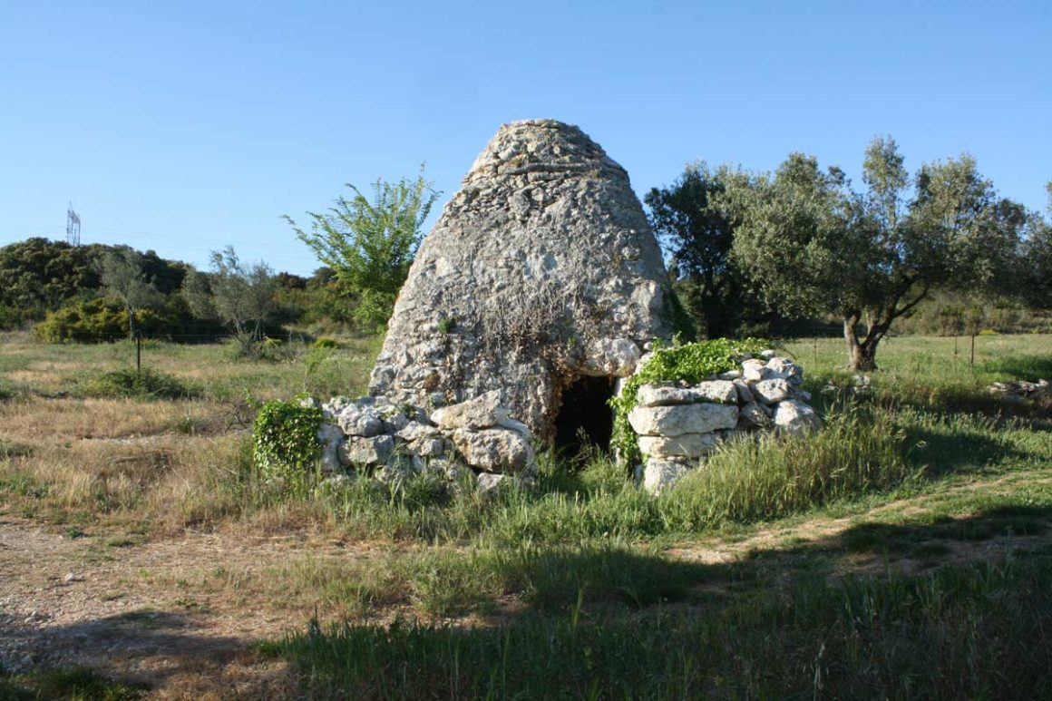 Cabane de pierre sèche