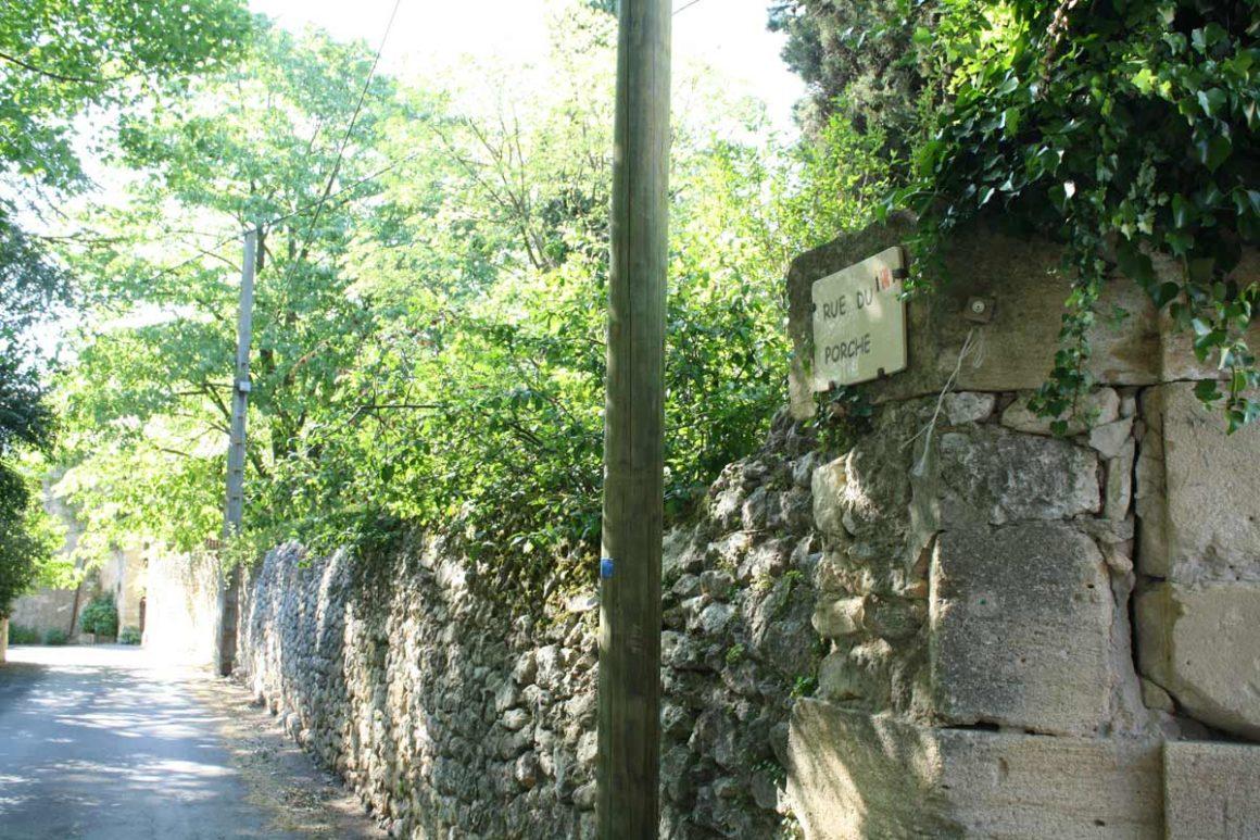 Rue de Sanilhac-Sagriès