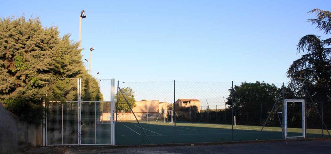Les terrains de tennis de Sanilhac-Sagriès