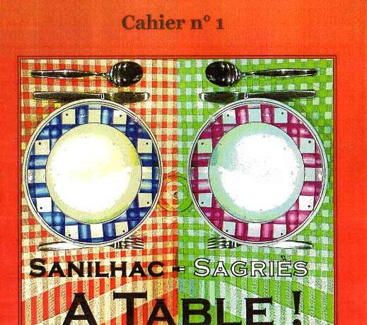 A Table ! Sanilhac-Sagriès, le livre est disponible