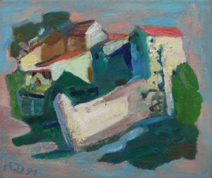 une famille de peintres allemands dans le Gard