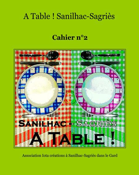 Cahier de recettes A Table ! n° 2