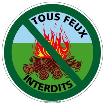 Interdiction de faire du feu en période Estivale