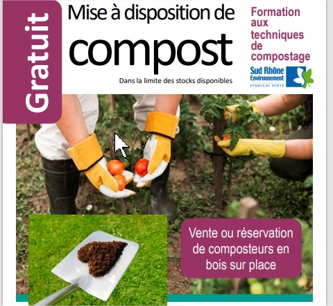 Mise à disposition de Compost