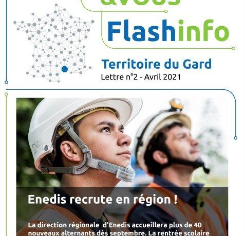 Enedis Flash Info_ Enedis recrute dans le Gard
