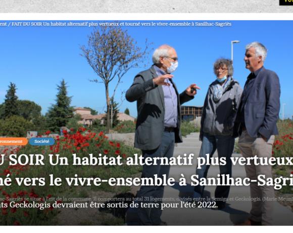 Revue de presse : L'Eco-quartier à l'honneur !