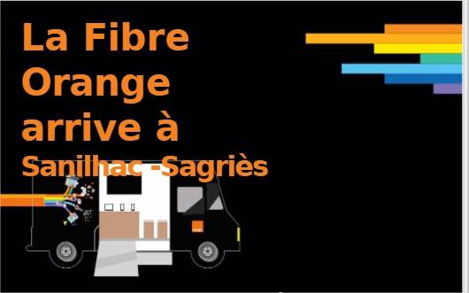 Infos pour la fibre avec Orange